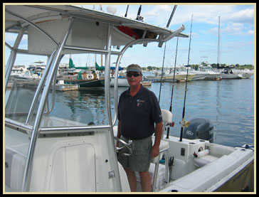 Captain Bill Jarman Fishing Charter Boat Captain fishing out of Newburyport, MA